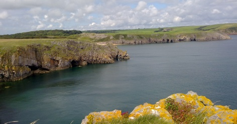 stackpole cliffs
